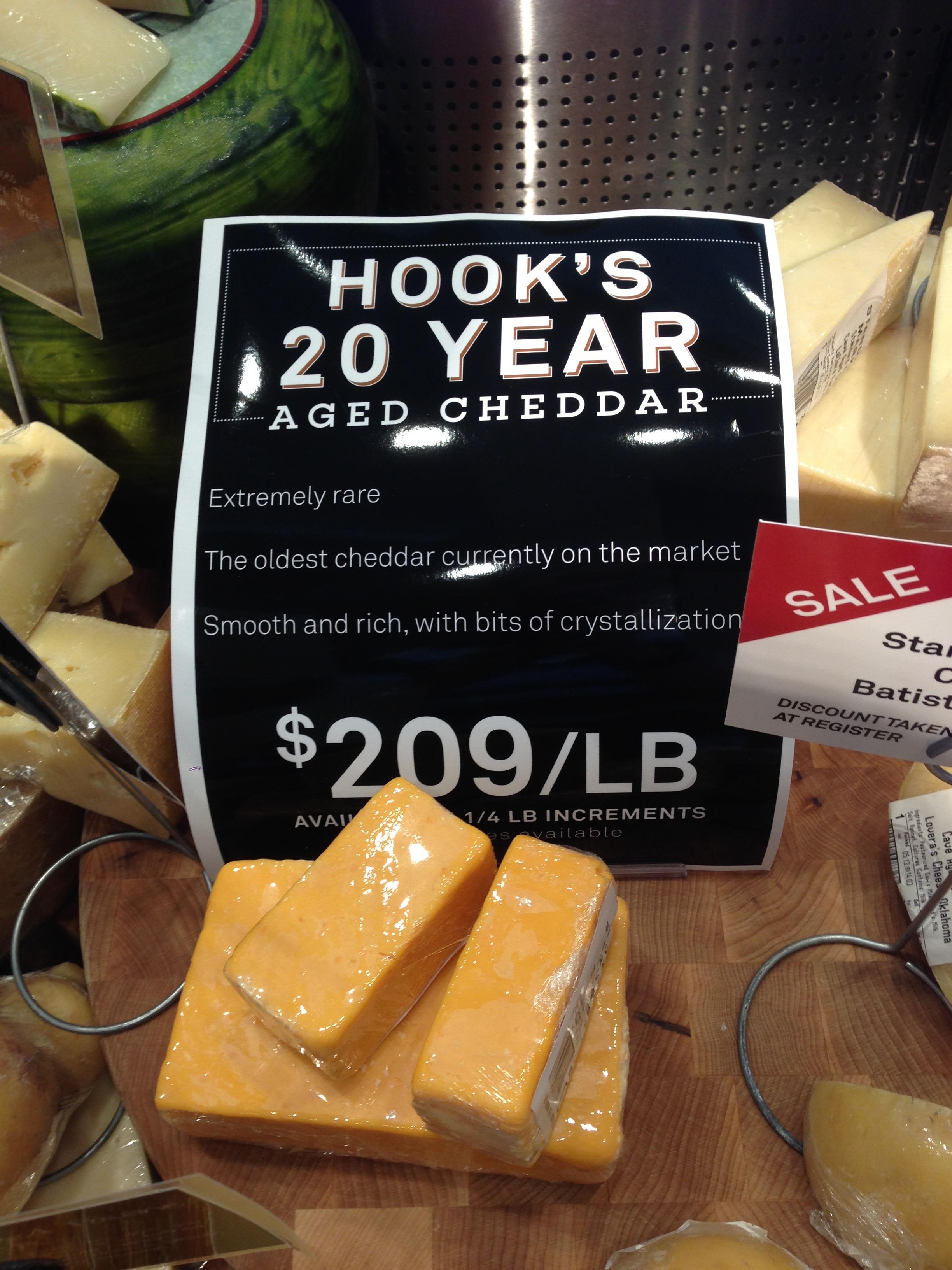 Hook's 20 Year Aged Cheddar